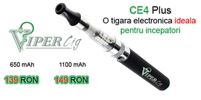 Tigara Electronica ce4 plus promotie vipercig